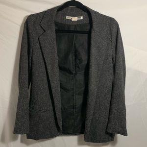 NECESSARY OBJECTS gray blazer